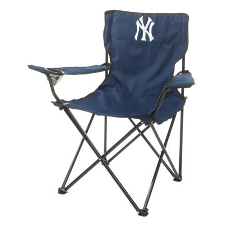 Logo Brands Yankees Quad Chair in Yankees