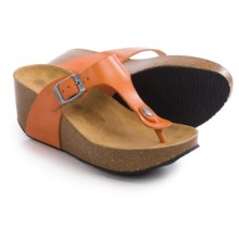 Lola Sabbia For Eric Michael Mila Platform Sandals (For Women) in Orange - Closeouts