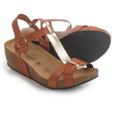 Lola Sabbia Libby Sandals (For Women) in Tan/Gold - Closeouts