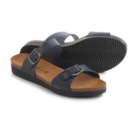Lola Sabbia Natalie Sandals - Leather (For Women) in Navy - Closeouts