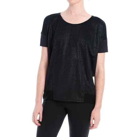 Lole Aasi Shirt - Short Sleeve (For Women) in Black - Closeouts