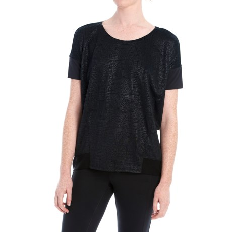 Lole Aasi Shirt - Short Sleeve (For Women) in Black