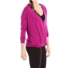 Lole Abella Shirt - Lenzing Modal®, Long Sleeve (For Women) in Wild Aster - Closeouts