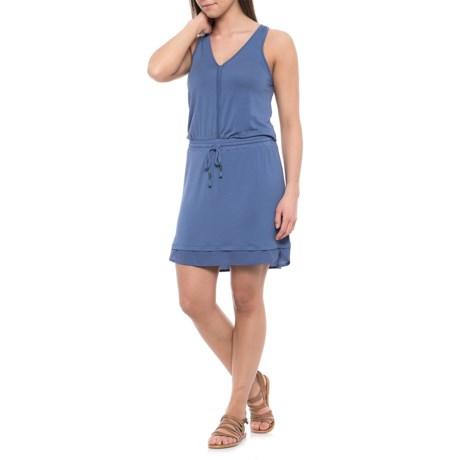 Lole Abisha Drawstring Dress - Sleeveless (For Women) in Midnight