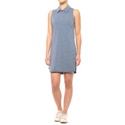 Lole Adisa Dress - Sleeveless (For Women) in Dazzling Blue Stripe - Closeouts