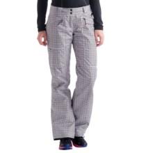 Lole Alex 2 Ski Pants - Insulated (For Women) in Dark Charcoal Pie De Gallo - Closeouts