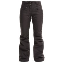 Lole Alexa Thermaglow Ski Pants - Waterproof, Insulated (For Women) in Dark Charcoal - Closeouts