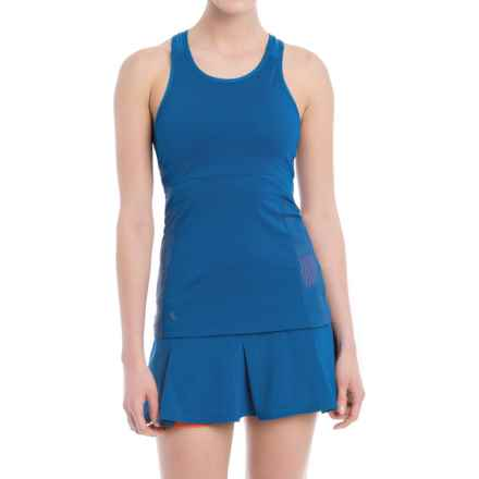 Lole Alysa Racerback Tank Top - UPF 30+, Built-In Sports Bra (For Women) in Limoges - Closeouts