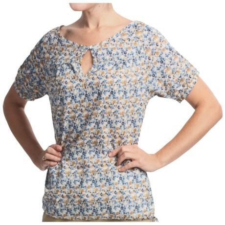 Lole Amanda Shirt - Short Sleeve (For Women) in Liberty Sahara