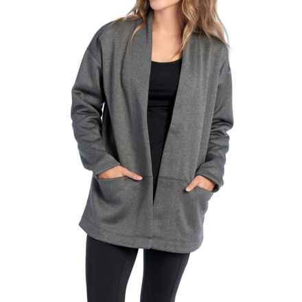 Lole Ananti Cardigan Sweater (For Women) in Black Heather - Closeouts