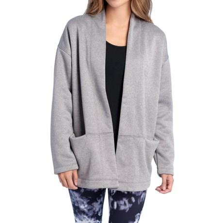 Lole Ananti Cardigan Sweater (For Women) in Meteor Heather