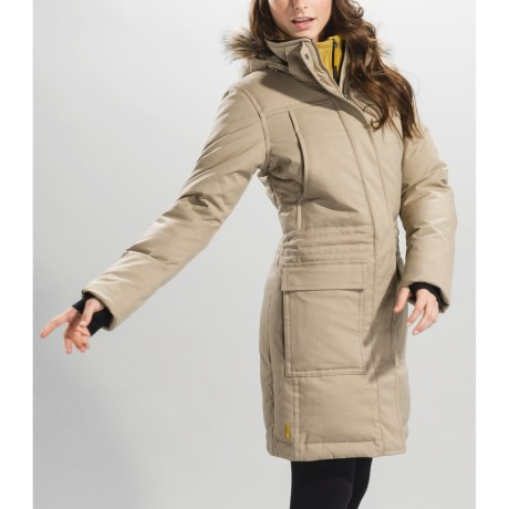 Lole Andorra Jacket - Insulated, Removable Hood (For Women) in Sand