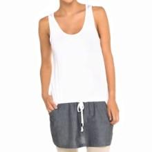Lole Anita Tunic Shirt - Sleeveless (For Women) in White - Closeouts