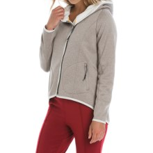 Lole Ardeen Cardigan Jacket (For Women) in Cinder Heather - Closeouts