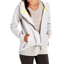 Lole Ardeen Cardigan Jacket (For Women) in Turnip Heather - Closeouts