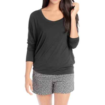 Lole Artis Shirt - Lenzing Modal®, Long Sleeve (For Women) in Black - Closeouts