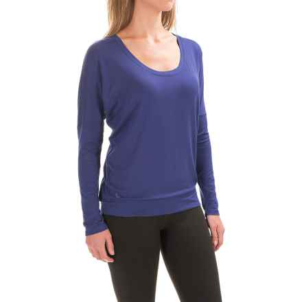 Lole Artis Shirt - Lenzing Modal®, Long Sleeve (For Women) in Twilight Blue - Closeouts