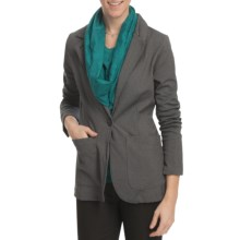 Lole Baggage Blazer (For Women) in Black Heather - Closeouts