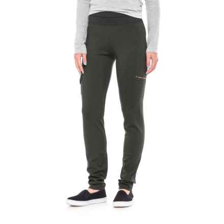 Lole Baggage Up Leggings (For Women) in Greens Heather - Closeouts
