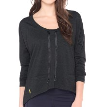 Lole Bala Shirt - Long Sleeve (For Women) in Black Heather - Closeouts