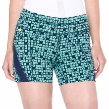 Lole Balance 2 Shorts - UPF 50+ (For Women) in Amalfi Blue Sugar Cube - Closeouts