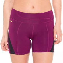 Lole Balance 2 Shorts - UPF 50+ (For Women) in Mulberry - Closeouts