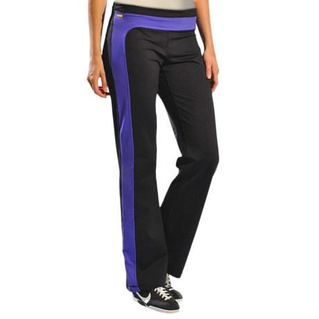 Lole Balance Pants - UPF 50+ (For Women) in Black/Spectrum