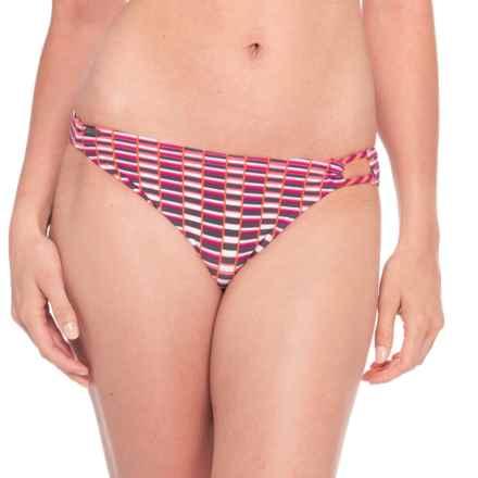 Lole Balos Bikini Bottoms - Low Rise (For Women) in Pink Lemonade Eskala - Closeouts