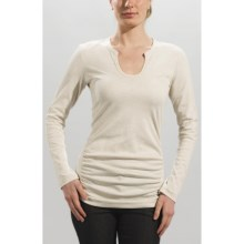 Lole Bella Tunic Shirt - UPF 50+, Long Sleeve (For Women) in Bone Heather - Closeouts