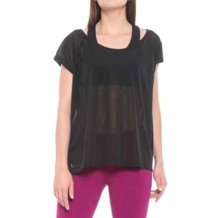 62c4decc0 Lole Beth Shirt - Scoop Neck, Short Sleeve (For Women) in Black -
