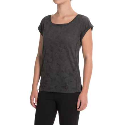 Lole Bethany Shirt - Short Sleeve (For Women) in Black - Closeouts