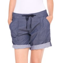 Lole Billie Shorts - Mid Rise (For Women) in Blueberry - Closeouts