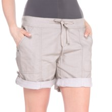 Lole Billie Shorts - Mid Rise (For Women) in Morel - Closeouts