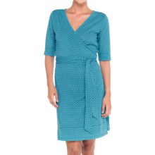 Lole Blake Dress - Elbow Sleeve (For Women) in Blue Corn Sail - Closeouts
