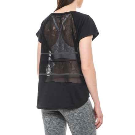 Lole Blanka Shirt - Short Sleeve (For Women) in Black - Closeouts