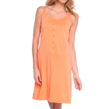 Lole Bliss Summer Slip Dress - Sleeveless (For Women) in Melon - Closeouts