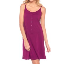 Lole Bliss Summer Slip Dress - Sleeveless (For Women) in Mulberry - Closeouts