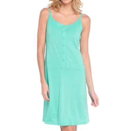 Lole Bliss Summer Slip Dress - Sleeveless (For Women) in Turquoise - Closeouts