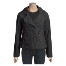 Lole Bonnie Jacket - Stretch Mini Cord, UPF 50 (For Women) in Black - Closeouts