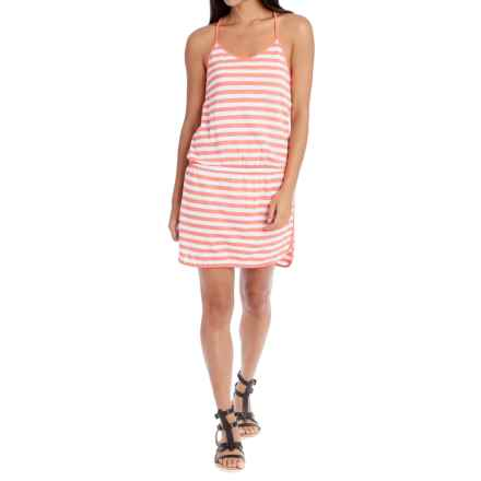 Lole Briley Dress - Racerback (For Women) in Starburst Stripe - Closeouts