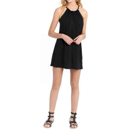 Lole Britt Tunic Dress - UPF 50+, Sleeveless (For Women) in Black - Closeouts
