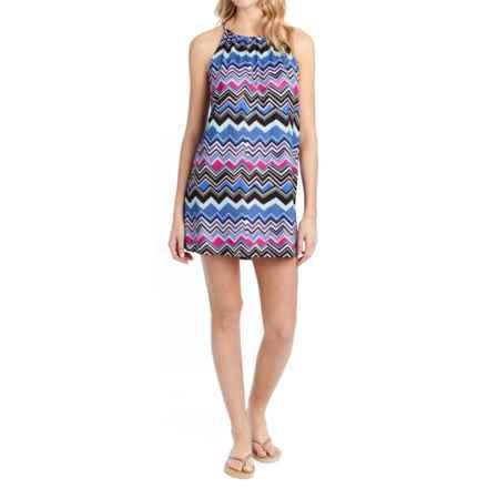 Lole Britt Tunic Dress - UPF 50+, Sleeveless (For Women) in Dazzling Blue Chevron Stripe - Closeouts