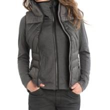 Lole Brooklyn Down Vest - Waterproof, 500 Fill Power (For Women) in Black Heather - Closeouts