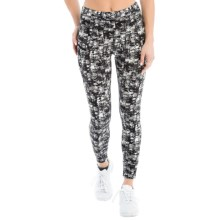 Lole Burst Leggings (For Women) in Black Impressionist - Closeouts