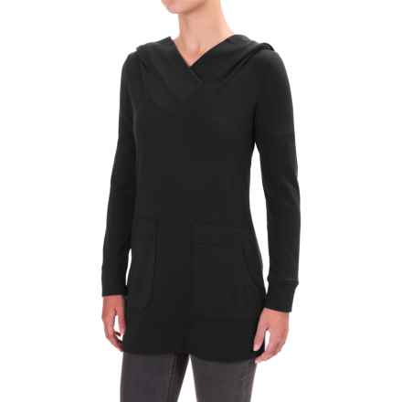 Lole Call You Hooded Sweatshirt (For Women) in Black - Closeouts