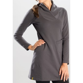 Lole Calm Dress - Long Sleeve (For Women) in Moonlight