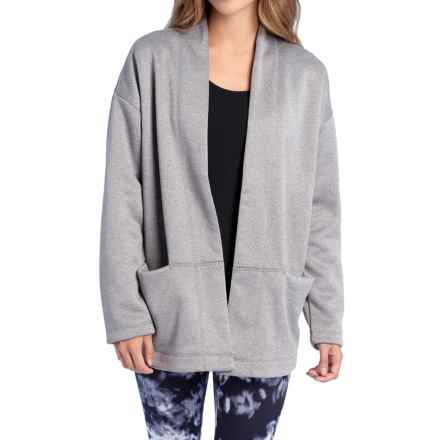 Lole Cardigan Sweater (For Women) in Meteor Heather - Closeouts