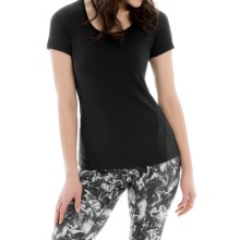 Lole Cardio T-Shirt - Scoop Neck, Short Sleeve (For Women) in Black - Closeouts