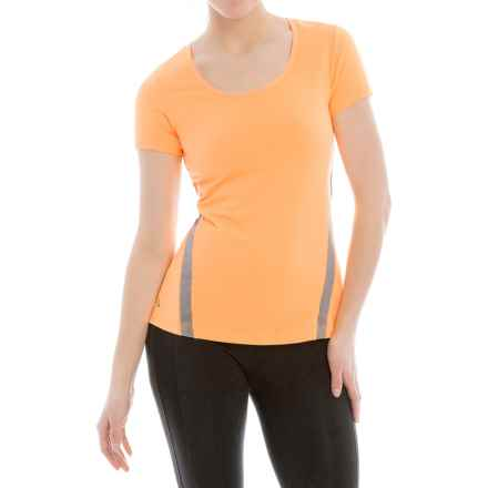 Lole Cardio T-Shirt - Scoop Neck, Short Sleeve (For Women) in Mirage - Closeouts