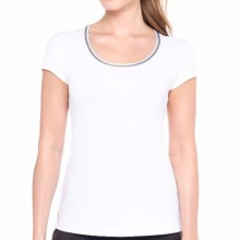 Lole Cardio T-Shirt - UPF 50+, Short Sleeve (For Women) in White - Closeouts